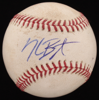 Kris Bryant Signed 2015 Game-Used OML Baseball Inscribed (JSA COA & MLB Hologram) at PristineAuction.com