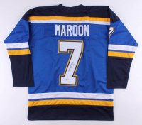 Patrick Maroon Signed Jersey (Beckett COA) at PristineAuction.com
