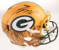 Jordy Nelson Signed Green Bay Packers Full-Size Authentic On-Field Hydro Dipped Speed Helmet (JSA COA) at PristineAuction.com