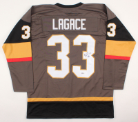 Maxime Lagace Signed Jersey (Beckett COA) at PristineAuction.com