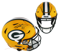 Charles Woodson Signed Green Bay Packers Full-Size Authentic On-Field SpeedFlex Helmet (Radtke COA) at PristineAuction.com