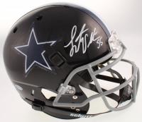 Leighton Vander Esch Signed Dallas Cowboys Matte Black Full-Size Authentic On-Field Helmet (Beckett COA) at PristineAuction.com