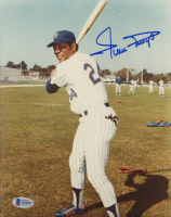 Willie Mays Signed New York Mets 8x10 Photo (Beckett COA) at PristineAuction.com