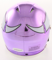 Cris Carter Signed Minnesota Vikings Chrome Speed Mini Helmet (TSE COA) at PristineAuction.com