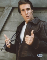 """Henry Winkler Signed """"Happy Days"""" 8x10 Photo (Beckett COA) at PristineAuction.com"""