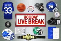 Schwartz Sports HOLIDAY SEASON Live Break Mystery Box – Series 2 (4 Items Per Box) (#10 of 25) at PristineAuction.com
