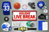 Schwartz Sports HOLIDAY SEASON Live Break Mystery Box – Series 2 (4 Items Per Box) (#25 of 25) at PristineAuction.com