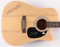 """Sam Hunt Signed 38"""" Acoustic Guitar  (JSA COA) at PristineAuction.com"""