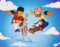"Tony Hawk Signed ""The Simpsons"" 11x14 Photo (PSA COA) at PristineAuction.com"
