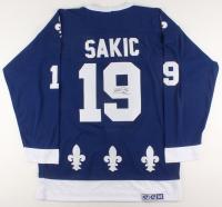 Joe Sakic Signed Quebec Nordiques Captain's Jersey (JSA COA) at PristineAuction.com