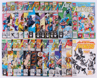"Lot of (26) 1991-92 ""The Avengers"" Issues #334-#357 Marvel Comic Books at PristineAuction.com"