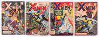 "Lot of (4) 1967-68 ""The Uncanny X-Men"" #26-#36 Marvel Comic Books at PristineAuction.com"
