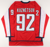 Evgeny Kuznetsov Signed Jersey (Beckett COA) at PristineAuction.com