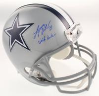 "Leighton Vander Esch Signed Dallas Cowboys Full-Size Helmet Inscribed ""Wolf Hunter"" (Schwartz COA) at PristineAuction.com"