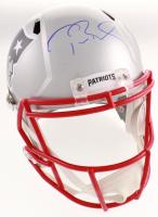 Tom Brady Signed New England Patriots Super Bowl LIII Logo Full-Size Speed Helmet (TriStar Hologram) at PristineAuction.com