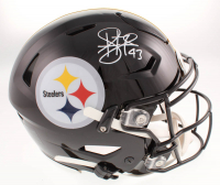 Troy Polamalu Signed Pittsburgh Steelers Full-Size Authentic On-Field SpeedFlex Helmet (Beckett COA) at PristineAuction.com