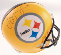 JuJu Smith-Schuster Signed Pittsburgh Steelers Full-Size Helmet (Schwartz COA) at PristineAuction.com