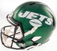 "Curtis Martin Signed New York Jets Full-Size Speed Helmet Inscribed ""Jets #28 Retired"", ""NFL ROY '95"" & ""HOF 2012"" (Beckett COA) at PristineAuction.com"