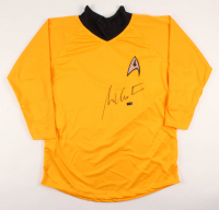"William Shatner Signed Star Trek ""Captain James T. Kirk"" Prop Replica Uniform Shirt (Radtke COA) at PristineAuction.com"