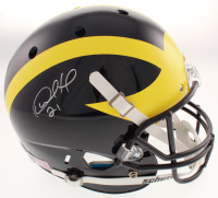 Desmond Howard Signed Michigan Wolverines Full-Size Helmet (Schwartz COA) at PristineAuction.com