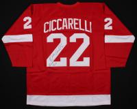 "Dino Ciccarelli Signed Jersey Inscribed ""H.O.F 2010"" (JSA COA) at PristineAuction.com"