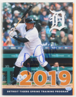 Miguel Cabrera Signed 2019 Detroit Tigers Training Program (Hollywood Collectibles COA) at PristineAuction.com