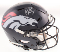 Peyton Manning Signed Denver Broncos Full-Size Authentic On-Field SpeedFlex Helmet (Fanatics Hologram) at PristineAuction.com