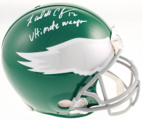 "Randall Cunningham Signed Philadelphia Eagles Full-Size Authentic On-Field Throwback Helmet Inscribed ""Ultimate Weapon"" (Beckett COA) at PristineAuction.com"