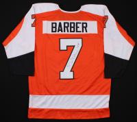 """Bill Barber Signed Jersey Inscribed """"HOF 90"""" (JSA COA) at PristineAuction.com"""