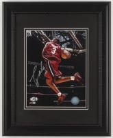 Dwayne Wade Signed Miami Heat 13x16 Custom Framed Display (Wade Hologram) at PristineAuction.com