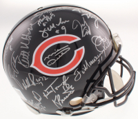 1985 Chicago Bears Super Bowl XX Logo Full-Size Authentic On-Field Helmet Team-Signed by (31) with Mike Ditka, Jim McMahon, Mike Singletary, Dan Hampton, William Perry (Schwartz COA) at PristineAuction.com
