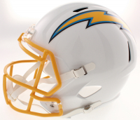 Keenan Allen Signed Los Angeles Chargers Full-Size Speed Helmet (Schwartz COA) at PristineAuction.com