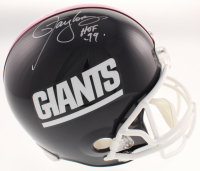 "Lawrence Taylor Signed New York Giants Full-Size Helmet Inscribed ""HOF '99"" (Schwartz COA) at PristineAuction.com"