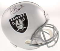Tim Brown Signed Oakland Raiders Full-Size Helmet (Beckett COA) at PristineAuction.com