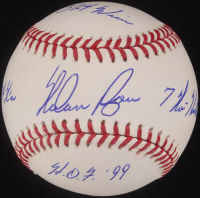 Nolan Ryan Signed OML Baseball with (4) Career Stat Inscriptions (PSA COA) at PristineAuction.com