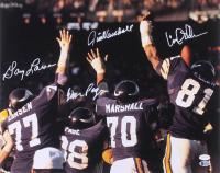 "Minnesota Vikings ""Purple People Eaters"" 16x20 Photo Signed by (4) with Carl Eller, Jim Marshall, Alan Page & Gary Larsen (TSE Hologram & Beckett Hologram) at PristineAuction.com"