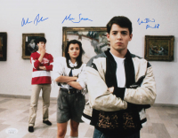 "Matthew Broderick, Mia Sara, & Alan Ruck Signed ""Ferris Bueller's Day Off"" 11x14 Photo (JSA COA) at PristineAuction.com"