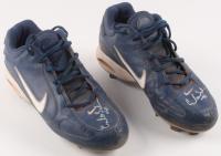 Carlos Santana Signed Pair of (2) Nike Baseball Cleats (Hollywood Collectibles COA) at PristineAuction.com