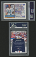 Lot of (2) PSA Graded Football Cards with 2017 Panini #66 Tom Brady (PSA 10) & 1994 Finest #142 Dan Marino (PSA 9) at PristineAuction.com