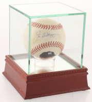 Joe DiMaggio Signed Hand-Painted OAL Baseball with Display Case (JSA ALOA) at PristineAuction.com