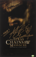 "Andrew Bryniarski Signed ""The Texas Chainsaw Massacre"" 11x17 Photo Inscribed ""Leatherface"" & ""...Next!"" (Hollywood Collectibles COA) at PristineAuction.com"