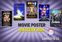 Schwartz Sports Featured Seller Auction Signed Movie Poster Mystery Box – (Limited to 15) at PristineAuction.com