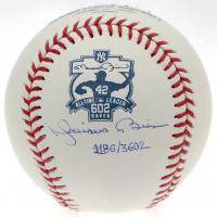 Mariano Rivera Signed 602 Wins Commemorative ROMLB LE Baseball (Steiner Hologram) at PristineAuction.com