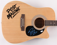 "Post Malone Signed 38"" Acoustic Guitar (JSA COA) at PristineAuction.com"