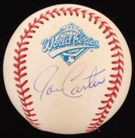 Joe Carter Signed 1993 World Series Baseball (MAB Hologram) at PristineAuction.com