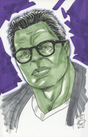 "Tom Hodges - Professor Hulk - Marvel Signed ORIGINAL 5.5"" x 8.5"" Color Drawing on Paper (1/1) at PristineAuction.com"