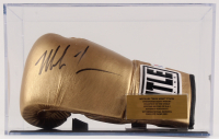Mike Tyson Signed Title Boxing Glove with Display Case (PSA COA) at PristineAuction.com