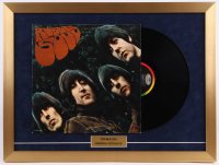 """The Beatles """"Rubber Soul"""" 18x24 Custom Framed Vinyl Record Display at PristineAuction.com"""