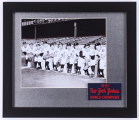 1951 New York Yankees 13x15 Custom Framed Photo Display with Patch at PristineAuction.com