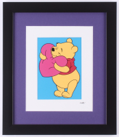 "Walt Disney's ""Winnie-the-Pooh"" 13x15 Custom Framed Hand-Painted Animation Serigraph Display at PristineAuction.com"